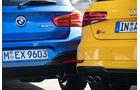 Audi S3, BMW M140i xDrive, Heckleuchten
