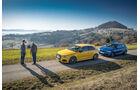 Audi S3, BMW M140i xDrive, Seitenansicht