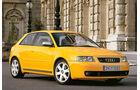 Audi S3, Seitenansicht