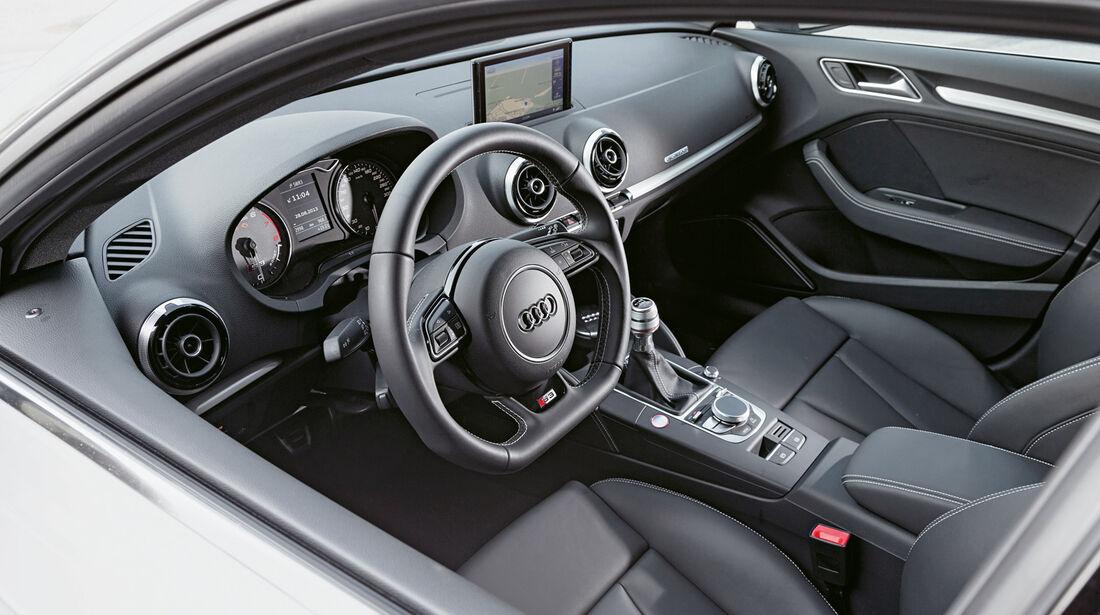 Audi S3 Sportback, Cockpit