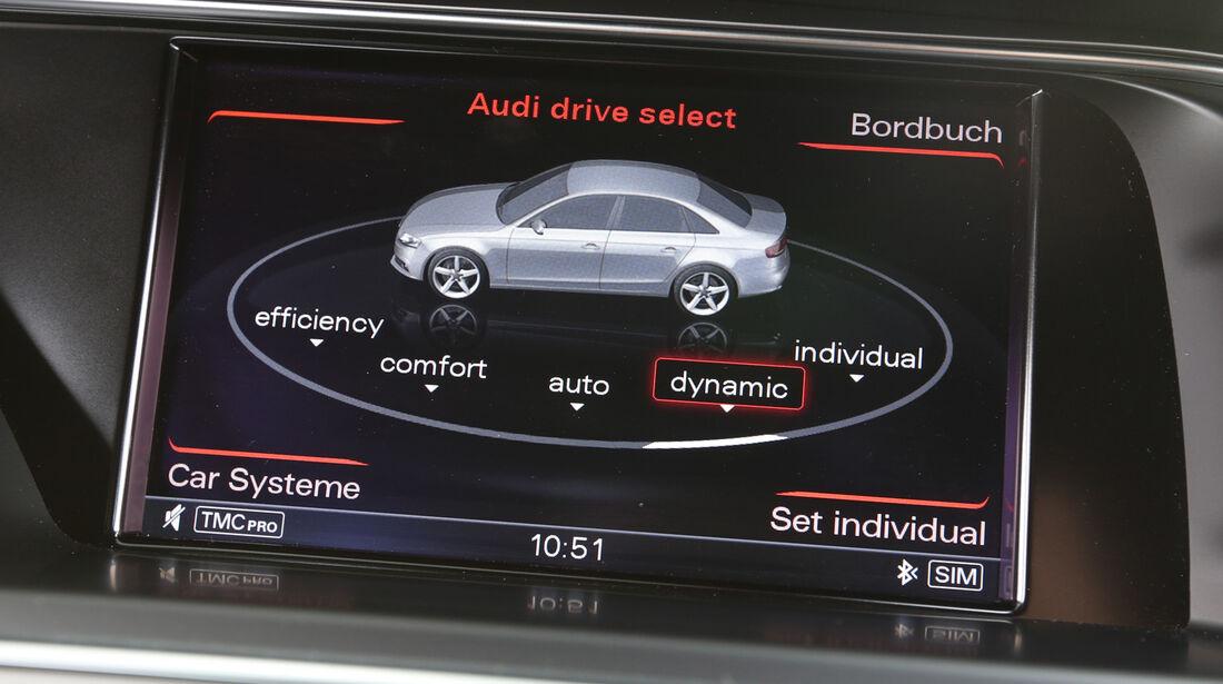 Audi S4 3.0 TFSI, Fahrwerkeinstellung, Bordcomputer