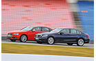 Audi S4, Mercedes C 400 4Matic, Seitenansicht