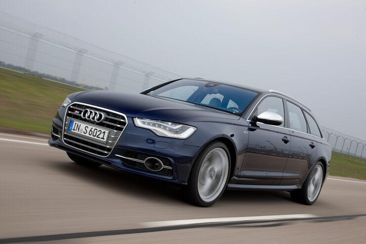 Audi S6 4.0 TFSI, Frontansicht