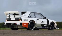 Audi Sport Quattro - Photoshop