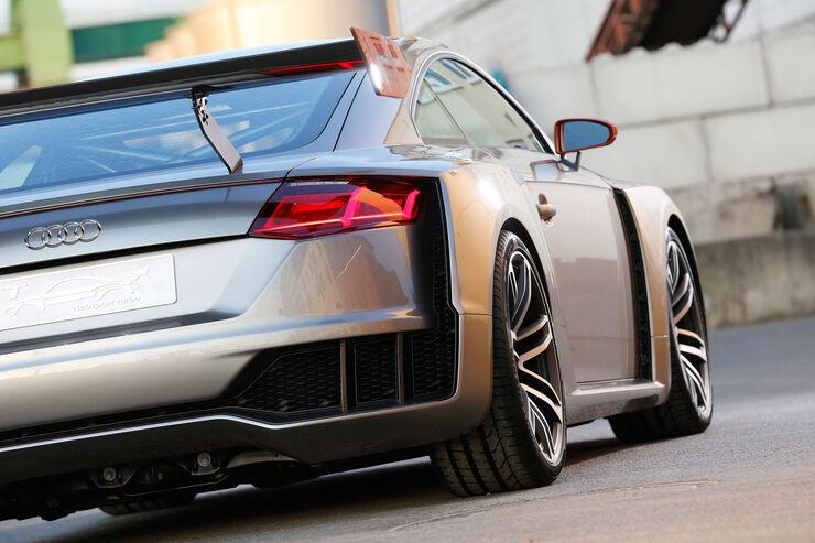 Audi Tt Clubsport Turbo Concept Fahrbericht Auto Motor Und Sport