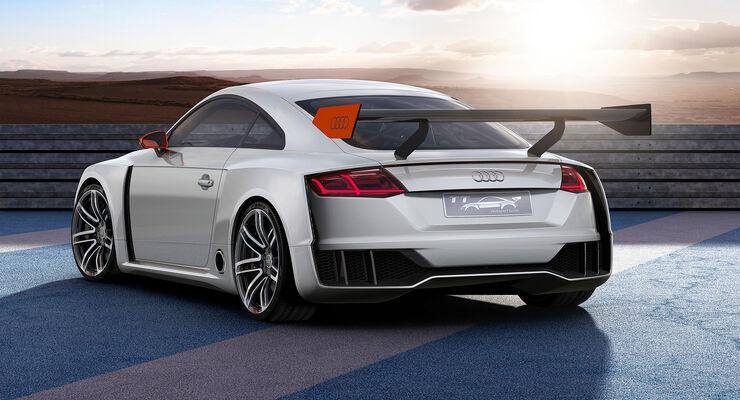 Audi Tt Clubsport Turbo Für Den Wörthersee Elektro Biturbo Mit 600