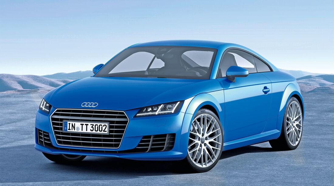 Audi TT, Frontansicht