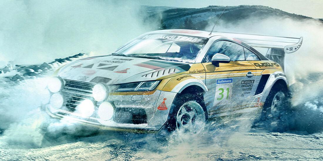 Audi TT - Moderne Rallye-Legenden