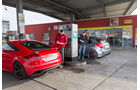 Audi TT RS Plus, Mercedes A 45 AMG,