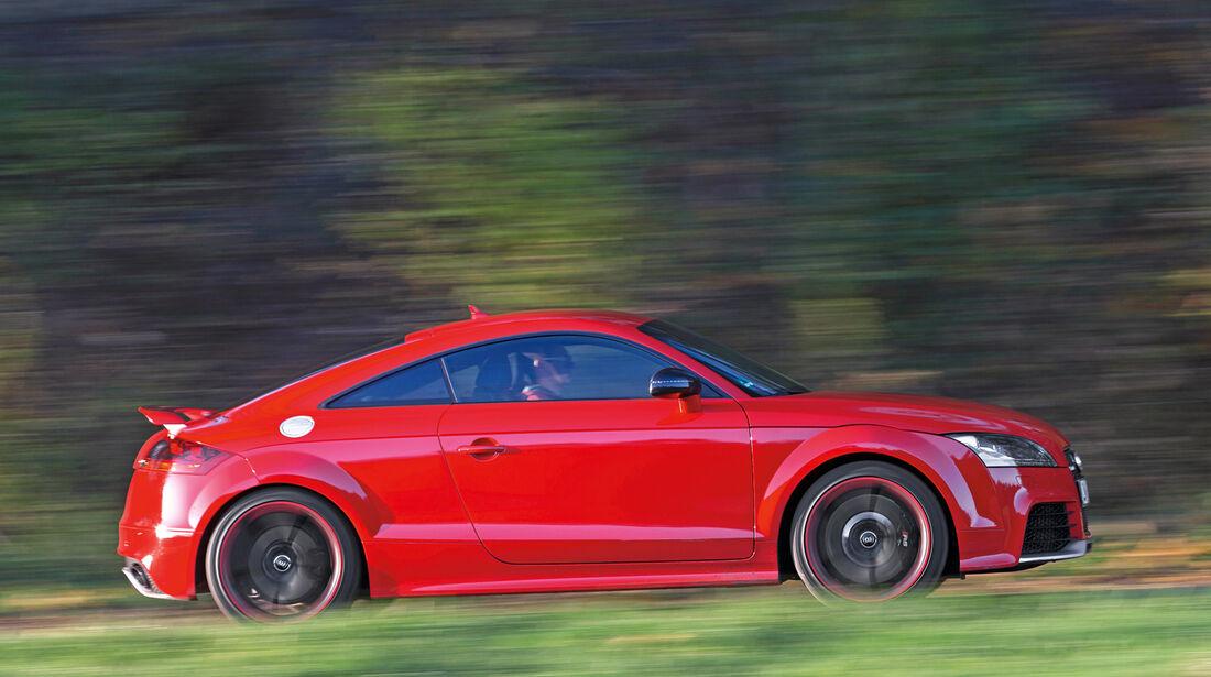 Audi TT RS Plus, Seitenansicht