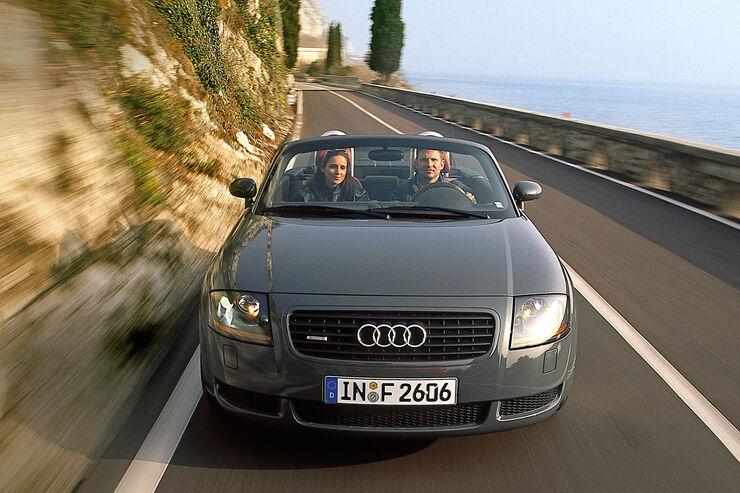Audi TT Roadster 1.8 T Quattro (8N), Frontansicht