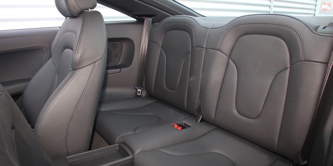Audi TT, Rücksitz