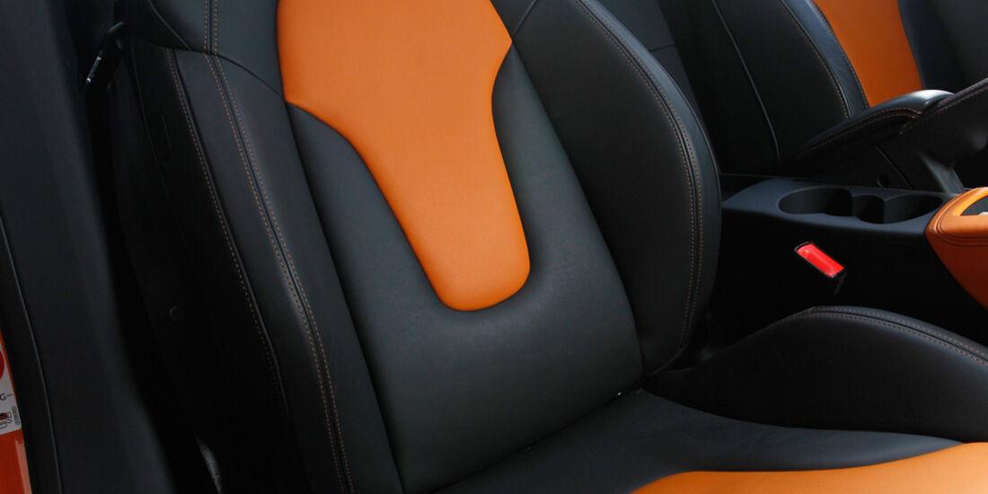 Audi TTS Roadster, Sitze, Sportsitz