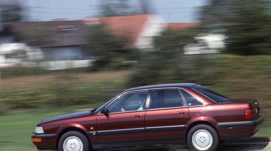 Audi V8 3.6 Fahrt Seite