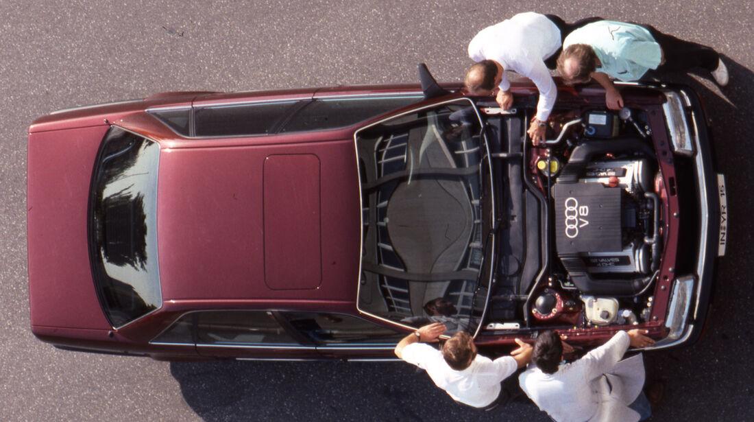Audi V8 3.6 Motor oben