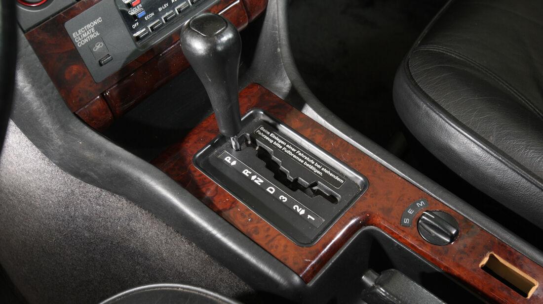 Audi V8, Schalthebel, Schaltknauf