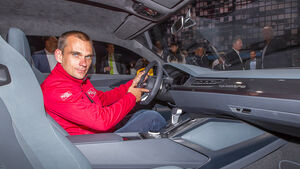 Audi quattro concept, Sitzprobe