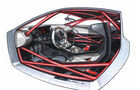 Audi quattro concept Zeichnung