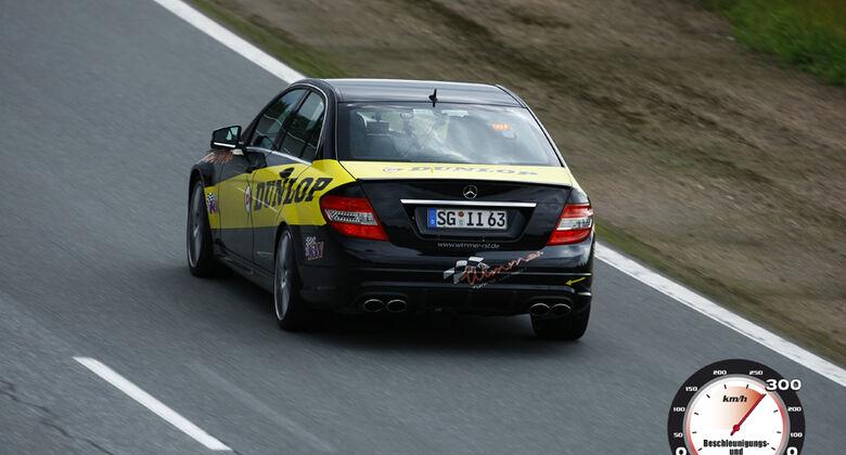 Aufmacher 0-300-0 2010, Wimmer C63 AMG