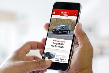 Auto-Mobil mit iOS undAndroid