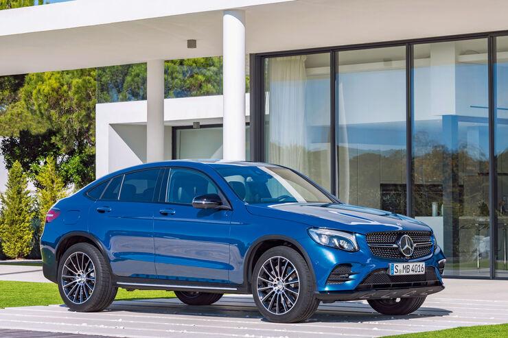 Preise Mercedes GLC Coupé (2016): Mercedes reitet SUV-Coupé-Attacke