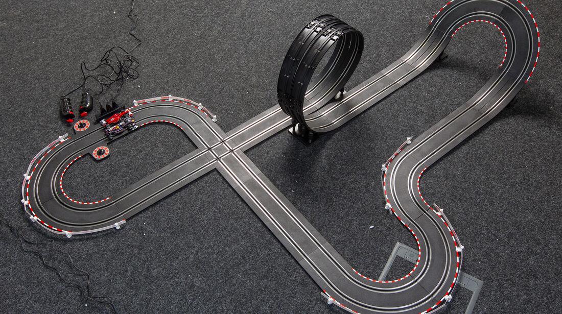 Autorennbahn, Strecke