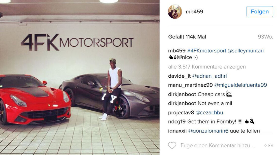 Autos der EM-Stars 2016, Fussballer-Autos, 06/2016