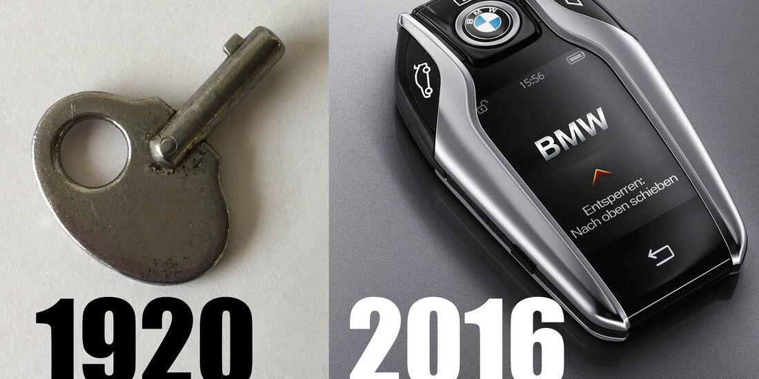 Autoschlüssel, früher und heute, Teaser