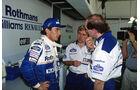 Ayrton Senna - Adrian Newey - Williams - GP San Marino 1994 - Imola