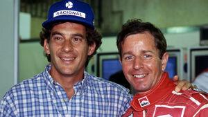 Ayrton Senna & Martin Brundle - GP Brasilien 1994