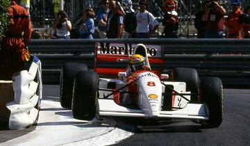 Ayrton Senna - McLaren - GP Monaco 1993