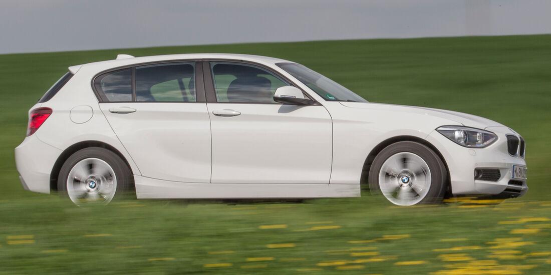 BMW 114d, Seitenansicht