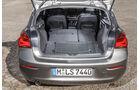 BMW 116d EDE, Kofferraum