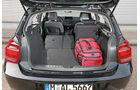 BMW 116i, Kofferraum