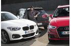 BMW 120d, Audi A3 2.0 TDI, Mini Clubman Cooper SD, Roman Domes