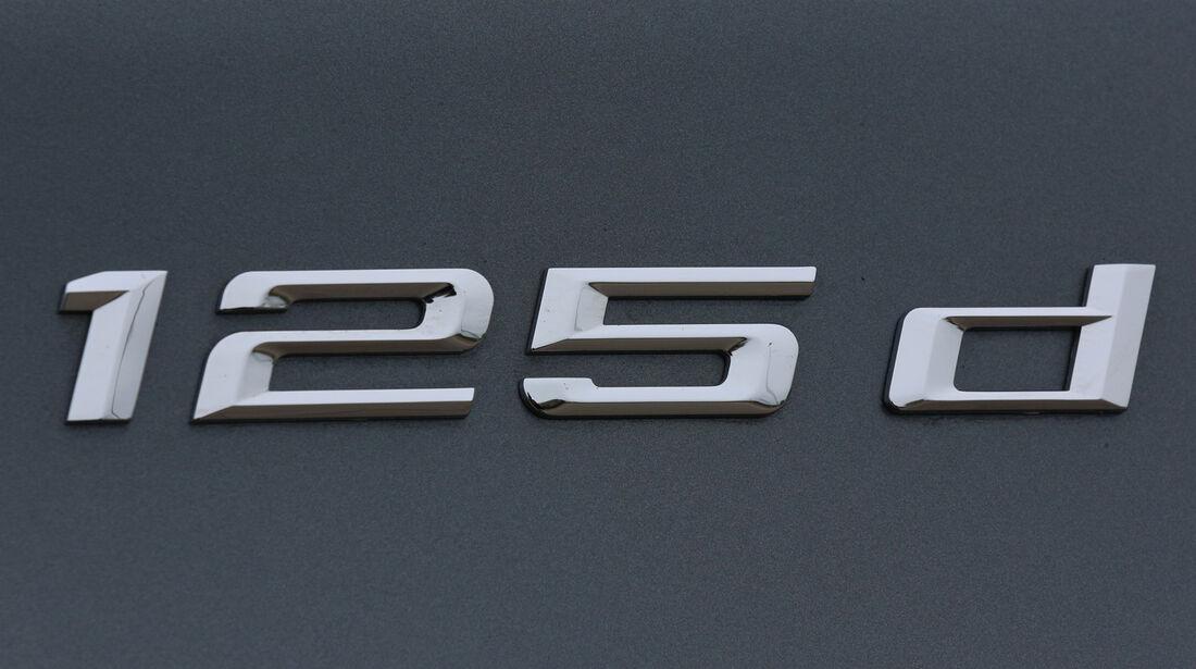 BMW 125d, Typenbezeichnung