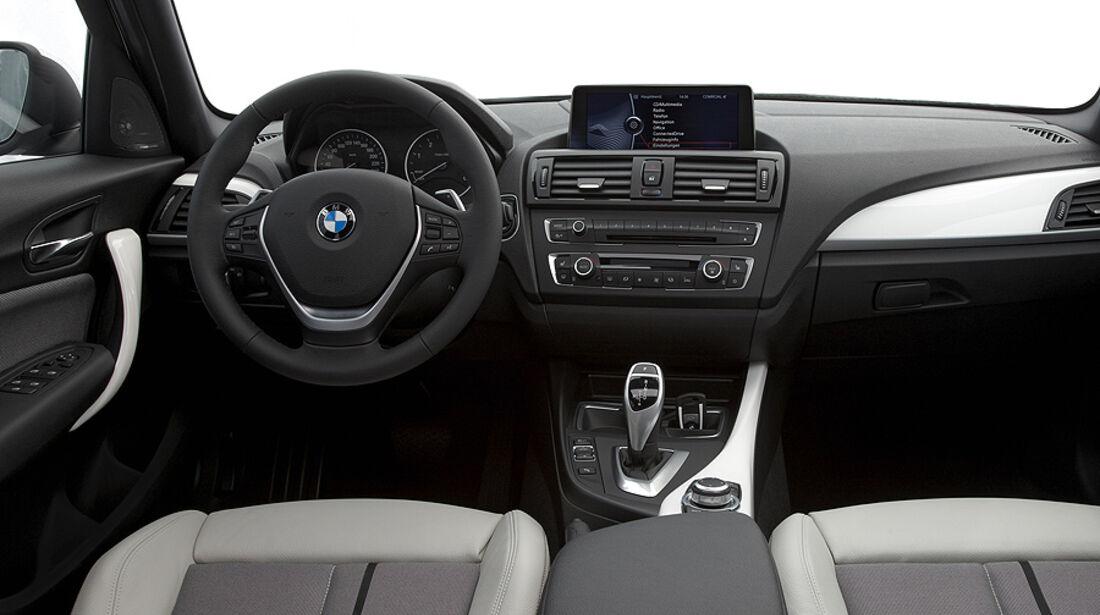 BMW 1er, 2011, Innenraum, Cockpit, Urban Line