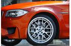 BMW 1er Coupe, Vorderrad, Detail, Radkappe