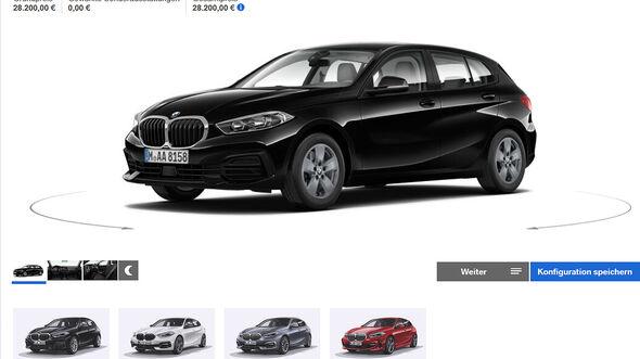 BMW 1er (F40) 118i Konfigurator