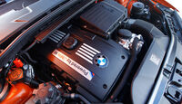 BMW 1er M Coupe, Motor, Motorraum