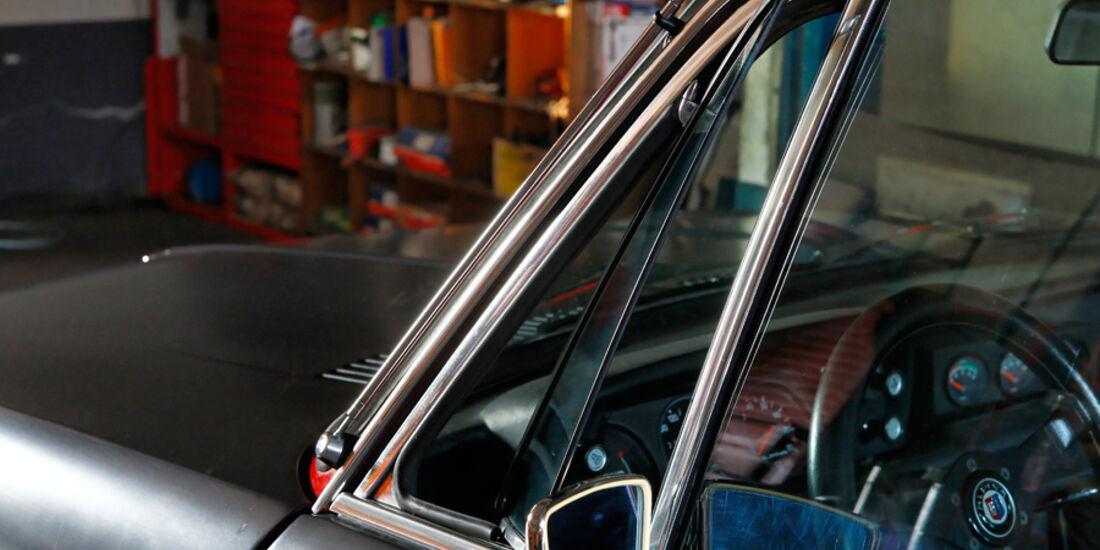 BMW 2002 tii Alpina, Dreiecksfenster, Seitenfenster