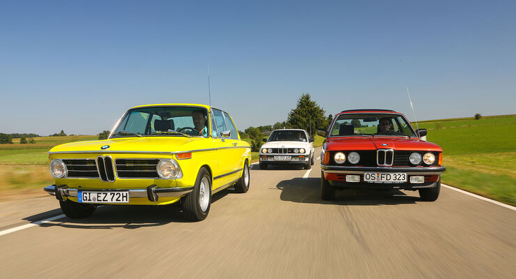 Markenbotschafter Von Bmw 2002 Tii 323i E21 Und 325e E30 Auto