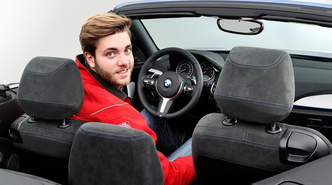 BMW 2er Cabrio Sitzprobe