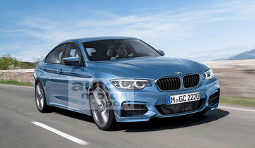 BMW 2er Gran Coupé Retusche
