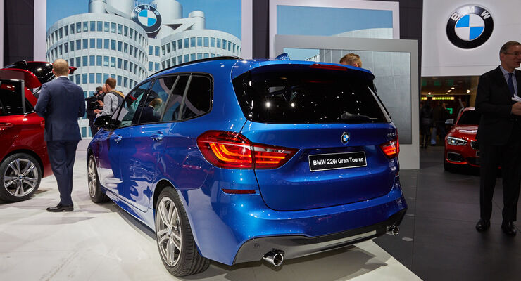BMW 2er Grand Tourer Genf Van