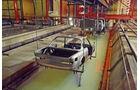 BMW 3.0 CSi (E9), Tauchbad, Lackierung