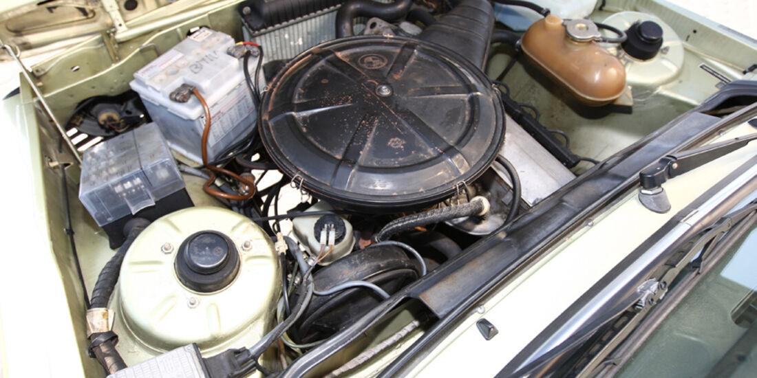 BMW 320 Baur Topcabriolet (TC1), Baujahr 1979, Motor
