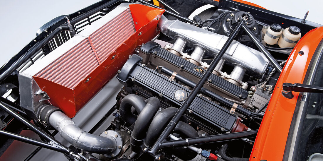BMW 320 Turbo Gruppe 5, Motor
