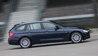 BMW 320i Touring, Seitenansicht