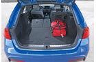 BMW 325d Touring, Kofferraum